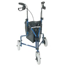 <strong>Briggs Healthcare</strong> 3-Wheel Steel Rollator in Royal Blue