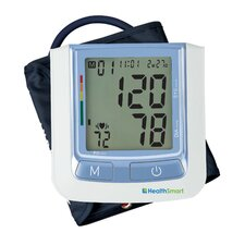 <strong>Briggs Healthcare</strong> Healthsmart Standard Automatic Digital Blood Pressure Monitor in Blue