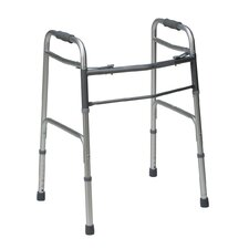Bariatric Two Button Folding Walker