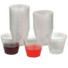 Plastic Medicine Cup (Set of 500)
