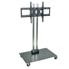 "44"" Flat Mobile Flat Panel Display Stand (For Screens 32"" - 60"")"