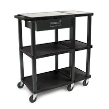 Tuffy 70 Series Extra Wide Open Shelf Presentation Station