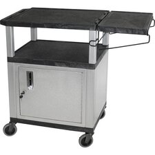 "34"" Cabinet Coffee Cart"