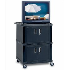 "49"" Tuffy Mobile Dual Cabinet Cart"