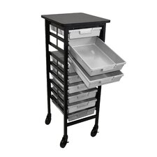 "44.25"" Mobile Workstation Storage Unit"