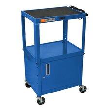 AV Cart with Cabinet
