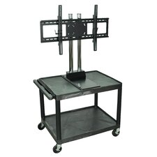 "<strong>H. Wilson Company</strong> Tuffy 47""  Mobile Flat Panel TV Cart (For Screens Up To 42"")"