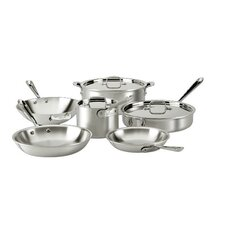 <strong>All-Clad</strong> Master Chef 2 9-Piece Cookware Set