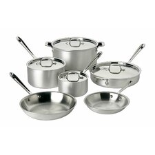 <strong>All-Clad</strong> Master Chef 2 10-Piece Cookware Set