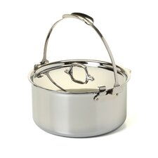 Stainless Steel 8-qt. Pouring Stock Pot with Lid