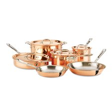 c2 Copper Clad 10-Piece Cookware Set