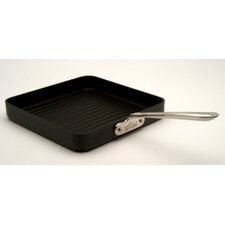 "Stainless Steel 11"" Nonstick Grill Pan"