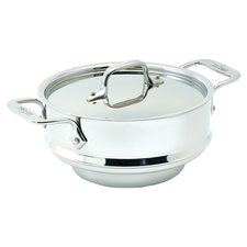 Stainless Steel 3 Qt. All Purpose Steamer Insert