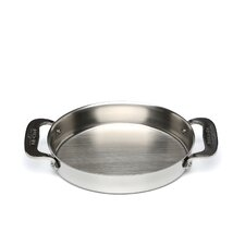Stainless Steel Oval Baker (Set of 2)