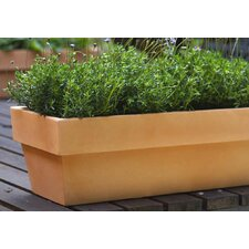 Conic Jardiniere Fang Rectangular Flower Pot Planter