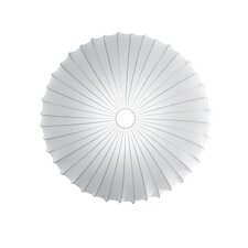 Muse Blanco Ceiling Light (E26 Fluorescent)
