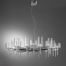 Spillray 20 Light Crystal Chandelier