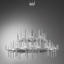 Spillray 30 Light Crystal Chandelier