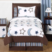 Starry Night Collection Twin Bedding Set