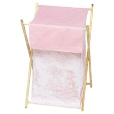 <strong>Sweet Jojo Designs</strong> Pink Toile Laundry Hamper
