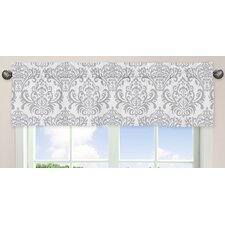 <strong>Sweet Jojo Designs</strong> Pink and Gray Elizabeth Cotton Curtain Valance