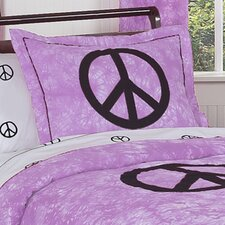 <strong>Sweet Jojo Designs</strong> Peace Purple Standard Pillow Sham