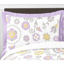 <strong>Sweet Jojo Designs</strong> Suzanna Cotton Standard Pillow Sham