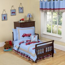 Frankie's Firetruck Toddler Bedding Collection