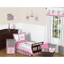 Paris 5 Piece Toddler Bedding Set