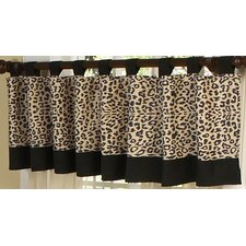 "Animal Safari 84"" Curtain Valance"