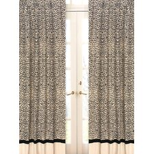 Animal Safari Curtain Panel Pair