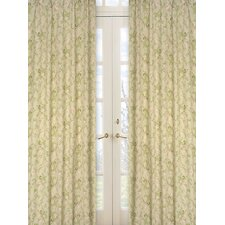 <strong>Sweet Jojo Designs</strong> Annabel Cotton Curtain Panel (Set of 2)