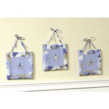 <strong>Sweet Jojo Designs</strong> Camo Blue Collection Wall Hangings