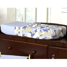 Camo Blue Collection Changing Pad Cover