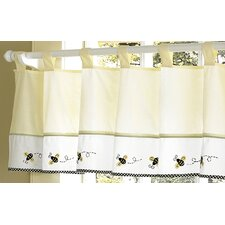 <strong>Sweet Jojo Designs</strong> Bumble Bee Cotton Curtain Valance