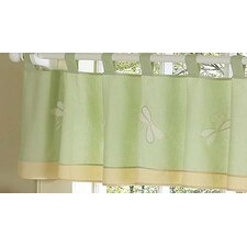 <strong>Sweet Jojo Designs</strong> Dragonfly Dreams Cotton Curtain Valance