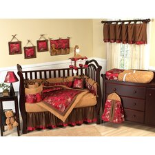 Oriental Garden 9 Piece Crib Bedding Set