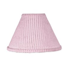 "10"" Chenille Pink Lamp Shade"