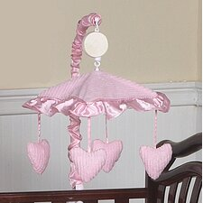 <strong>Sweet Jojo Designs</strong> Chenille Pink Collection Musical Mobile