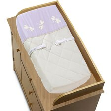 <strong>Sweet Jojo Designs</strong> Purple Dragonfly Dreams Collection Changing Pad Cover