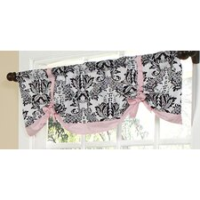 Sophia Cotton Rod Pocket Tie-Up Curtain Valance