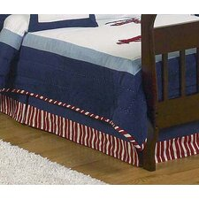 <strong>Sweet Jojo Designs</strong> Vintage Aviator Collection Toddler Bed Skirt