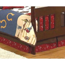 Wild West Cowboy Toddler Bed Skirt