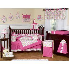 <strong>Sweet Jojo Designs</strong> Circles Pink Mod Crib Bedding Collection