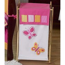 <strong>Sweet Jojo Designs</strong> Butterfly Pink and Purple Laundry Hamper