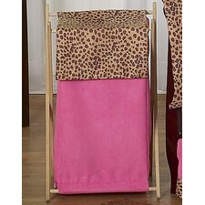 <strong>Sweet Jojo Designs</strong> Cheetah Pink Laundry Hamper