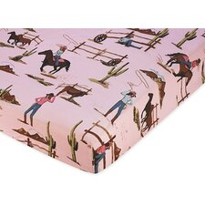 <strong>Sweet Jojo Designs</strong> Cowgirl Fitted Crib Sheet