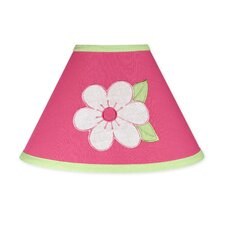 """10"""" Flower Pink and Green Empire Lamp Shade"""