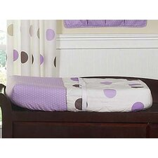 <strong>Sweet Jojo Designs</strong> Mod Dots Purple Collection Changing Pad Cover