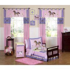 Pony Toddler Bedding Collection 5 Piece Set